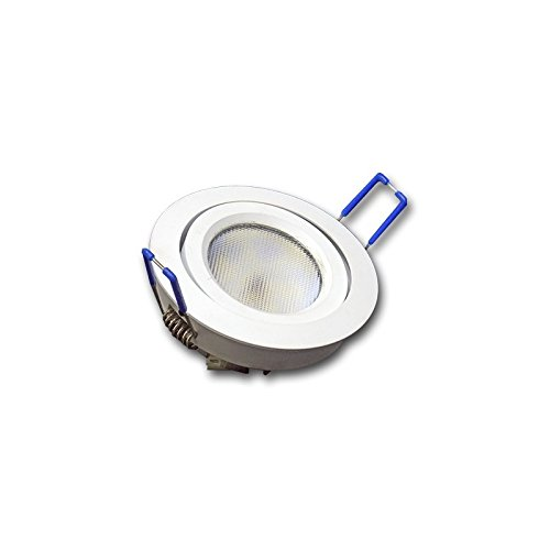 (LA) Downlight plafón Halogeno LED 8w integrado superfino/slim especial para bovedilla