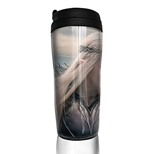 Hobbit Taza de café reutilizable aislada taza de viaje para bebidas calientes frías y calientes té y cerveza
