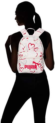 PUMA Mochila Pequeña Phase Rosa 075488-15