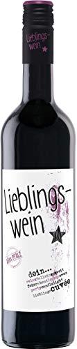 Lieblingswein Cuvee rot Halbtrocken (1 x 0.75 l)