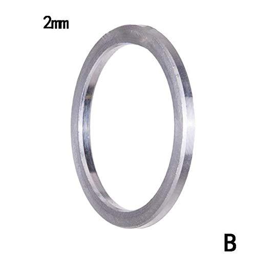 XW-DIANQUANS, Bici de la aleación los pernos de Chainring Cuña Espaciador de 1 mm 2 mm 3 mm Tornillos for la bicicleta conjunto de platos y bielas de bicicletas partes inferiores Spinner Lavadora