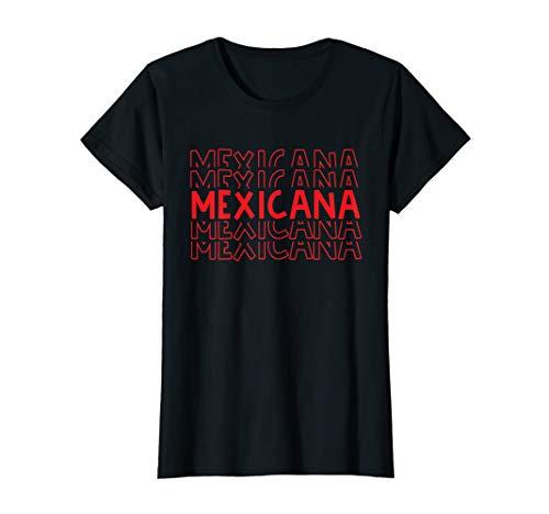 Damen Mexikanische Hemden für Frauen Lustiger mexikanischer Hemd T-Shirt