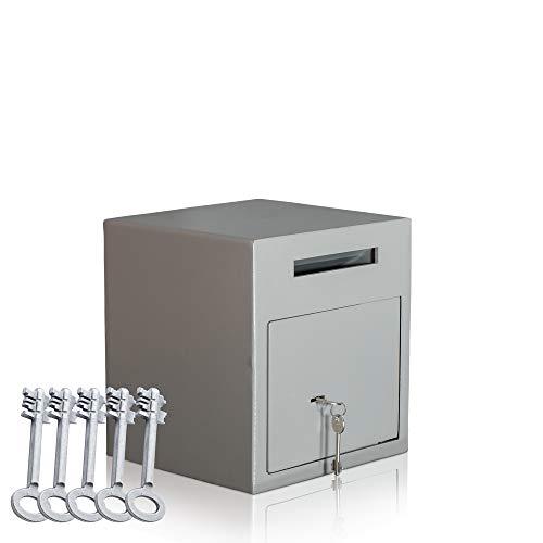 caja fuerte de depósito | Caja fuerte tipo buzón | caja fuerte con ranura | cerradura con llave | Nivel de seguridad A