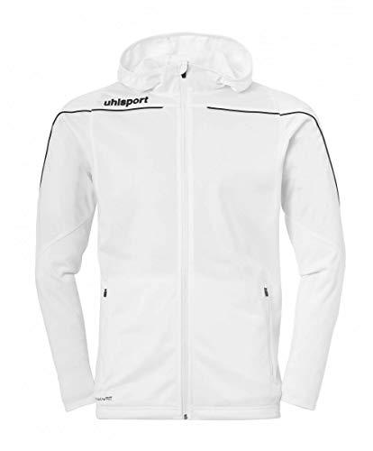 uhlsport Stream 22 Veste à capuche pour enfant S blanc/noir