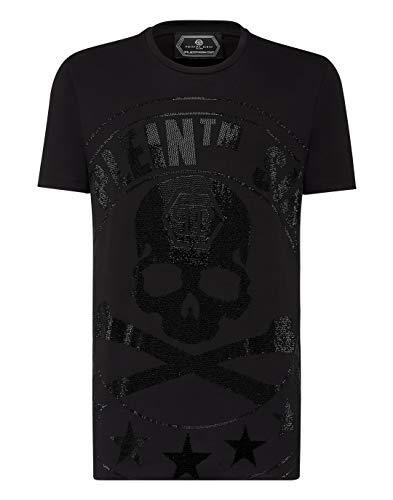 Philipp Plein Hombre T-Shirt MTK4335 02 Black Camiseta