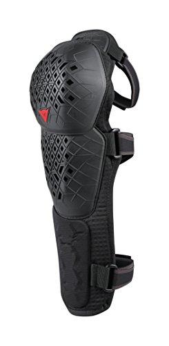 Dainese Unisex-Adult Armoform Knee Guard Lite EXT Knieprotektoren MTB, Schwarz, XL