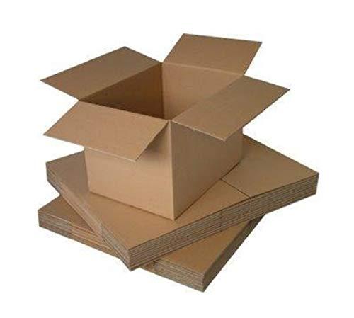 Packitsafe Cajas de cartón de canal simple, pequeñas, medianas y grandes, cajas...