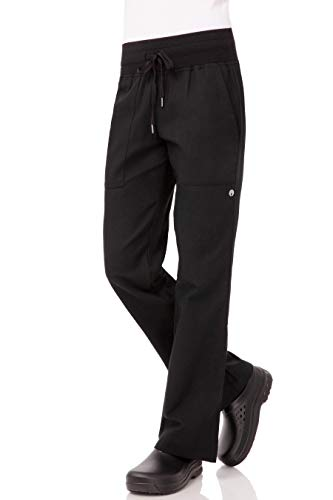 Chef Works Women's Comfi Chef Pants, Black, 2X-Large