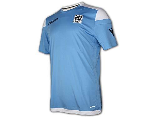Macron TSV 1860 München Training Jersey Löwen Sport Freizeit Shirt Top hellblau, Größe:L
