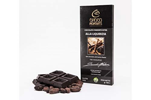 Tavoletta di cioccolato - 100g (Fondente extra alla liquirizia)