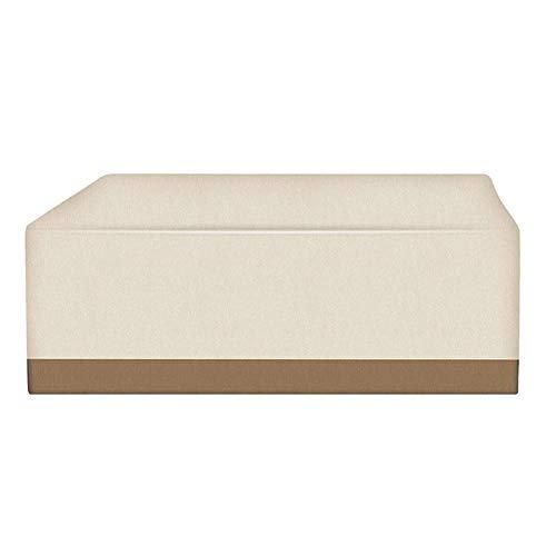 Abdeckung für Gartenmöbel, Schutzhülle Sitzgruppe Wasserdicht Staubdicht Anti-UV 210D Oxford Loungemöbel Abdeckhaube für Tisch Stühle Sofas