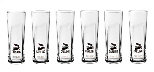 Carling Half Pint Lager Glass Toughened CE Marked (6)