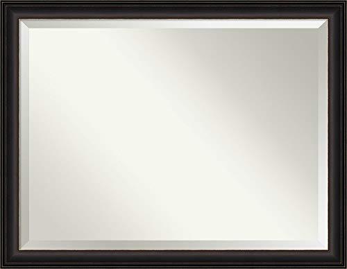 Amanti Art Framed Vanity Mirror   Bathroom Mirrors for Wall   Trio -
