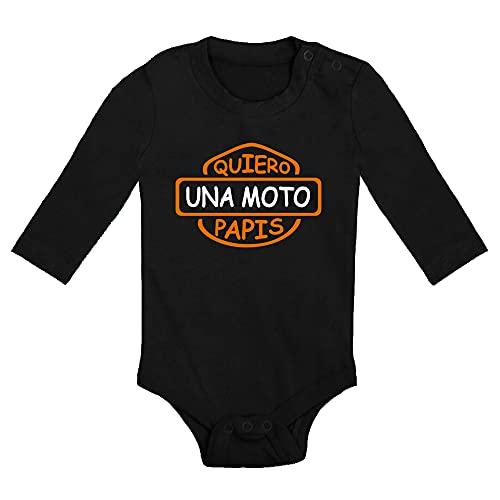 ClickInk Body bebé Quiero una Harley...