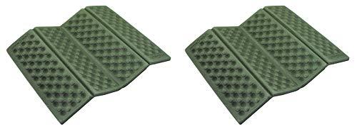 AceCamp 2X Faltbares XPE Sitzkissen Outdoor, Doppelpack Leichtes Thermokissen mit Transporttasche, Wasserdicht und isolierend, 39392