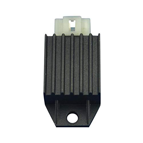 Adminitto88 Regler für Steckdose, 4-polig, wasserdicht, mit Regler 50CC125CC150CC für Spannungsstabilisator 4-polig für chinesische Scooter GY6