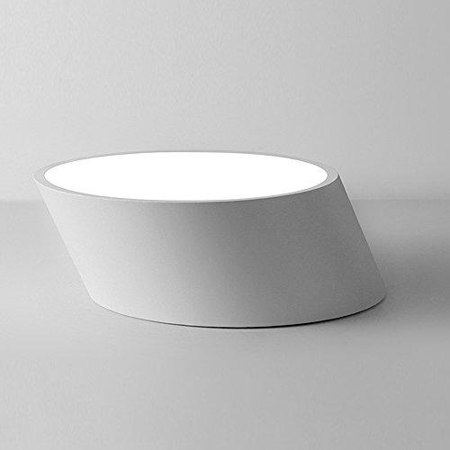 Iron Frame Plus - Plafón LED de 8 W, acrílico, para dormitorio,...