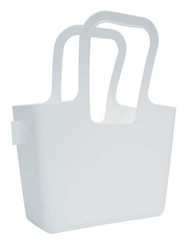 koziol Tasche Taschelino, Kunststoff, solid weiß, 13 x 32,7 x 38,6 cm