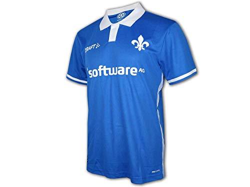 Craft Darmstadt 98 Home Shirt 19/20 blau SV98 Heim Trikot Darmstadt Fan Jersey, Größe:XXL