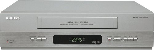 Philips VR550 Stereo VCR Player