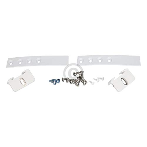 Vioks 9086322, set di montaggio per porta o anta del frigorifero e del freezer, cerniera con guida di scorrimento compatibile con prodotti di marca Liebherr