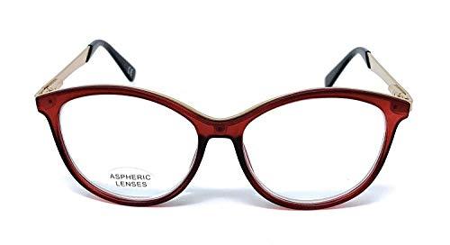 Gafas de lectura Presbicia Vista Cansada Mujer Diore Burgundy (2,50) Diseño Moderno Moda Nuevo modelo