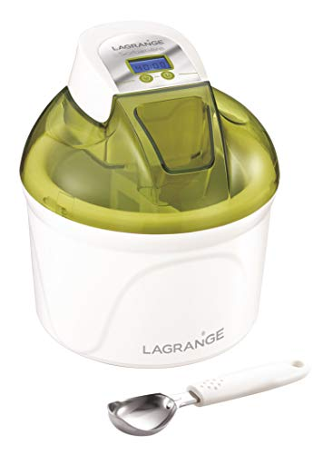 Lagrange 409002 Sorbetière 12 W Ecran LCD Cuve 1,5L Pistache