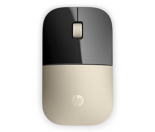 (Renewed) HP Z3700 Wireless Mouse (Modern Gold)