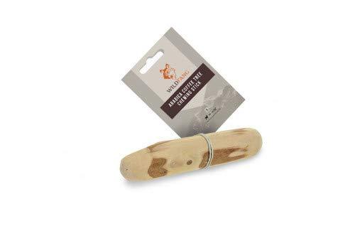 Wildfang® Kauwurzel aus Kaffeeholz für Ihren Vierbeiner I Hundespielzeug Holzknochen - Kauspielzeug - Zahnpflege & Kaumuskel Training I Langlebiger & natürlicher Kaustab für Ihren Hund