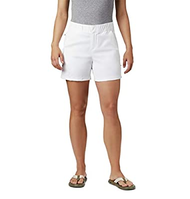 Columbia Women's Firewood Camp Ii Short, White, X-Small x 5