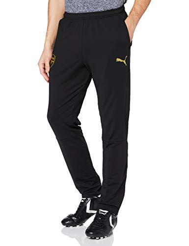Puma Arsenal FC Training Pants with Zipped Pockets, Pantaloni Tuta Uomo, Black, 3XL