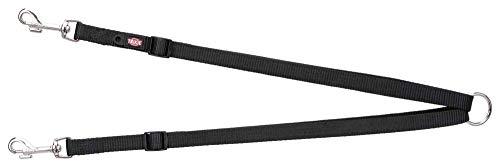 Trixie 20111 Premium Koppel, XS-M: 40-70 cm/15 mm, schwarz