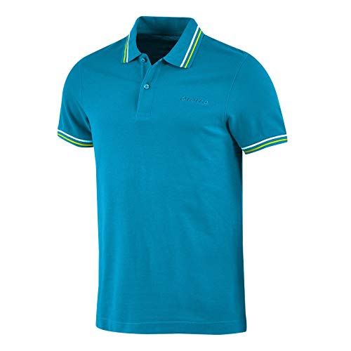 Lotto Polo Uomo T-Shirt Piquet Cotone Mare Tennis Barca Calcio Sport L73 PQ PJ Taglia XXL Colore Principale Blu Ego/Grn LTN