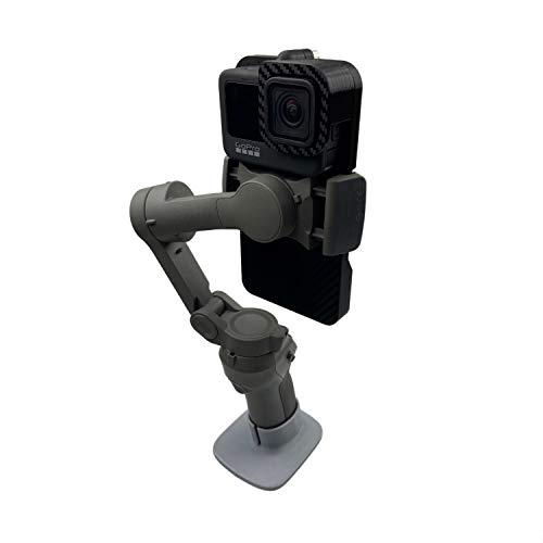 Handheld Gimbal Adapter for GoPro Hero 9 Black Camera Switch Mount Plate Adapter for DJI Osmo Mobile 4 3 Connect with Gopro 9