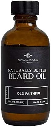 MNSC Old Faithful Naturally Better Beard Oil Conditioner Softens Smooths Strengthens Beard Growth product image