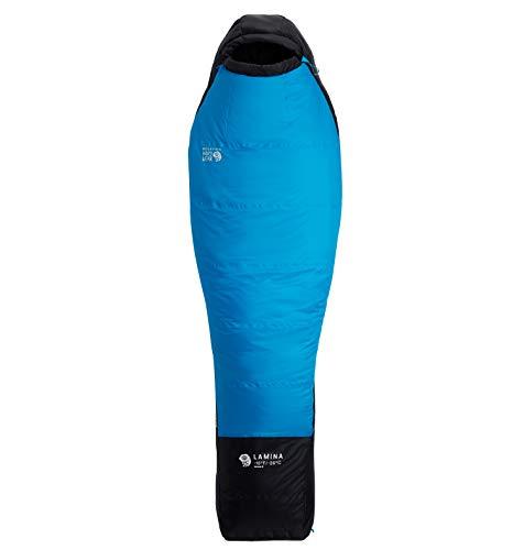 Mountain Hardwear Lamina Schlafsack -26°C Regular Electric Sky Ausführung Left Zipper 2020 Quechua Schlafsack
