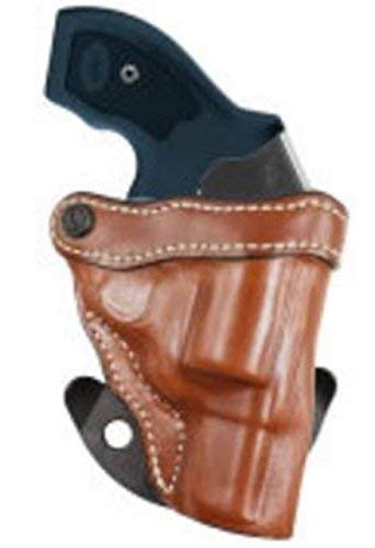 DeSantis Top Cop 2.0 Leather Holster Compatible with Kimber K6S, Tan, Right Hand