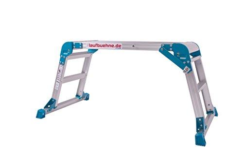 HASGRO GmbH - laufbuehne.de Die Laufbühne - Arbeitsplattform, Laufbühne aus Aluminium - die ideale Hilfe beim Beladen, Reiten, Camping, im Haushalt