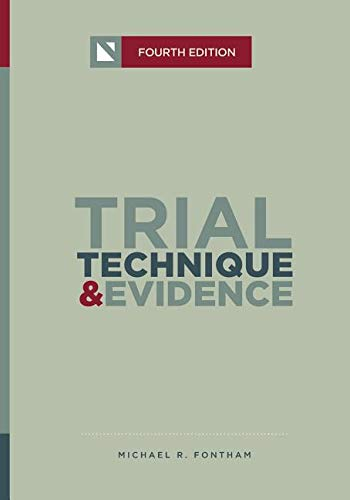 Trial Technique and Evidence (NITA)