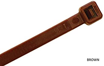 brown zip ties