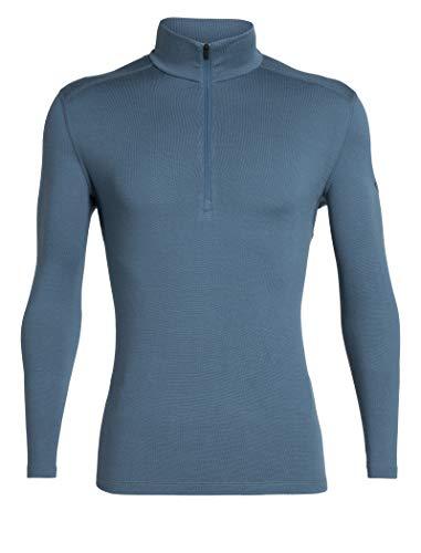 Icebreaker 260 Tech Longsleeve Half Zip Shirt Men - Thermowäsche aus Merinowolle