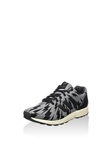 adidas Herren Zx Flux Low-top, grau/schwarz, 42 EU