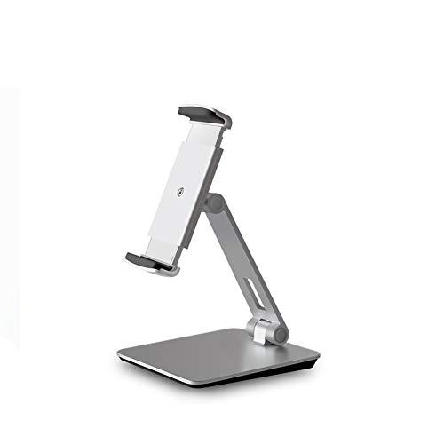 Kesio Soporte plegable para teléfono celular, soporte para tableta, soporte de escritorio de aluminio compatible con iPhone 12 iPad, Samsung Galaxy y más