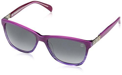 Tous STO902-5509N5 Gafas de sol, Shiny Streaked Purple, 55 para Mujer
