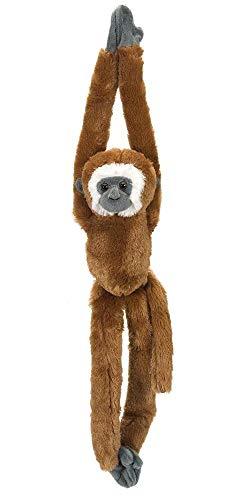 Wild Republic Gibbon Plush, Monkey Stuffed Animal, Plush Toy, Gifts for Kids, Hanging 20