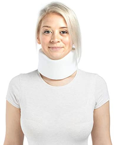 Soft Foam Cervical Collar Adjustable Neck Support Brace for Sleeping Relieves Neck Pain and product image