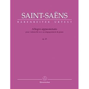Allegro appassionato in h-Moll op. 43 für Violoncello und Klavier