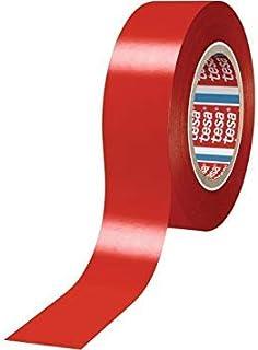 Cinta Aislante Roja TESA 8 Rollos 20m x 19mm