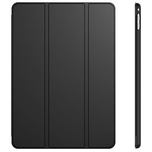 JETech Hülle für iPad Air 2, Schutzhülle mit Ständer Funktion & Auto Schlaf/Wachen, Schwarz
