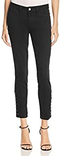 PAIGE Denim Women's Lacey Ultra Skinny Ankle Jeans in Black Sky